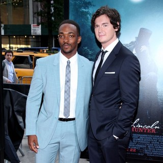 Anthony Mackie, Benjamin Walker in The Premiere of Abraham Lincoln: Vampire Hunter