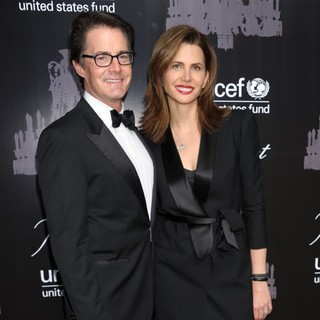 Kyle MacLachlan, Desiree Gruber in The U.S. Fund for UNICEF Hosts Its Ninth Annual UNICEF Snowflake Ball