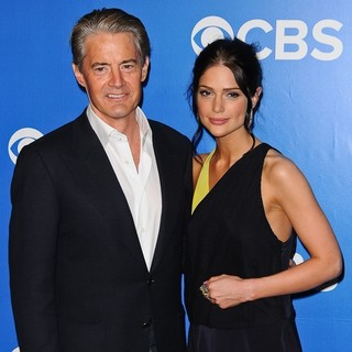 Kyle MacLachlan, Janet Montgomery in 2012 CBS Upfronts