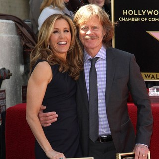 Felicity Huffman, William H. Macy in Felicity Huffman and William H. Macy Are Honored with Stars at The Hollywood Walk of Fame