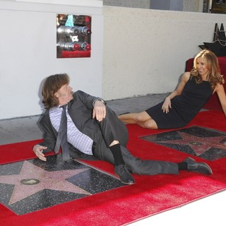 William H. Macy, Felicity Huffman in Felicity Huffman and William H. Macy Are Honored with Stars at The Hollywood Walk of Fame