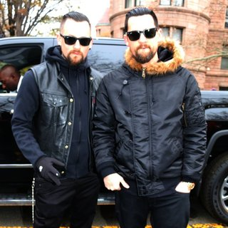 Benji Madden, Joel Madden in 88th Macy's Thanksgiving Day Parade