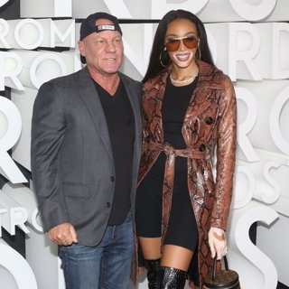 Steve Madden, Winnie Harlow in Nordstrom Flagship Opening Party