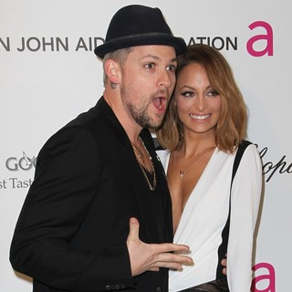 Joel Madden, Nicole Richie in 21st Annual Elton John AIDS Foundation's Oscar Viewing Party