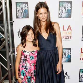 Bailee Madison, Katie Holmes in Don't Be Afraid of the Dark Premiere at 2011 LAFF - Arrivals
