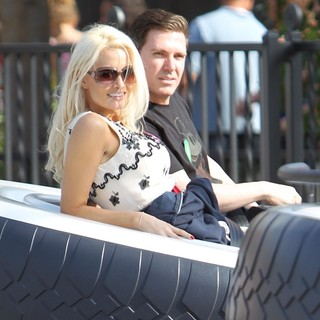 Holly Madison, Pasquale Rotella in Holly Madison and Pasquale Rotella Spend American Independence Day