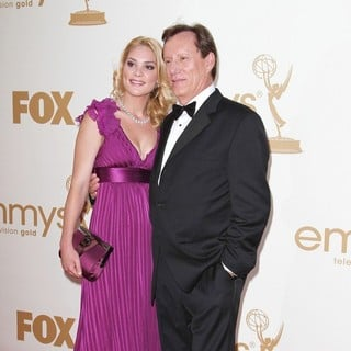 Ashley Madison, James Woods in The 63rd Primetime Emmy Awards - Arrivals