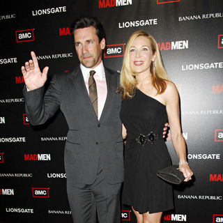 "Jon Hamm, Jennifer Westfeldt in AMC's ""Mad Men"" Season 4 Premiere - Arrivals"