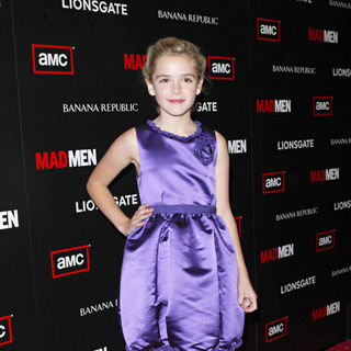 "Kiernan Shipka in AMC's ""Mad Men"" Season 4 Premiere - Arrivals"