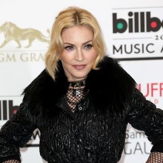 Madonna in 2013 Billboard Music Awards - Press Room