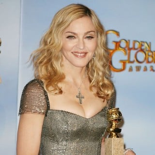 Madonna in The 69th Annual Golden Globe Awards - Press Room