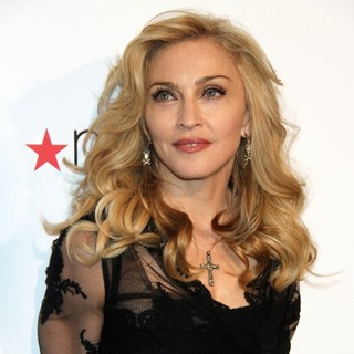 Madonna in The Truth or Dare by Madonna Fragrance Launch
