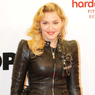 Madonna in Hard Candy Fitness Club Opening - Arrivals