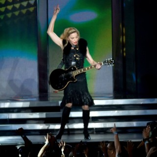 Madonna - Madonna Performs Live During Her First MDNA Concert on Her World Tour