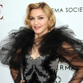 Madonna in New York Premiere of W.E. - Arrivals