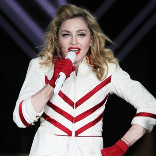 Madonna in Madonna Performing Live in Moscow