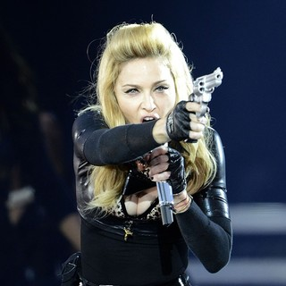 Madonna in Madonna Performs During Her MDNA Tour