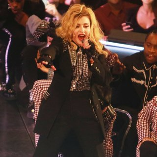 Madonna in Madonna Performs Live During Her Rebel Heart Tour