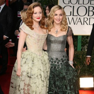 Andrea Riseborough, Madonna in The 69th Annual Golden Globe Awards - Arrivals