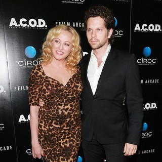 Virginia Madsen, Nick Holmes in A.C.O.D. Los Angeles Premiere