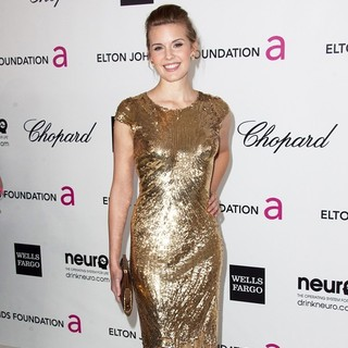 Maggie Grace in The 20th Annual Elton John AIDS Foundation's Oscar Viewing Party - Arrivals