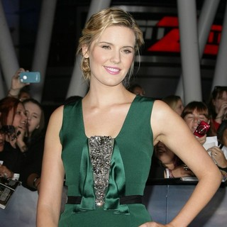 Maggie Grace in The Premiere of The Twilight Saga's Breaking Dawn Part II