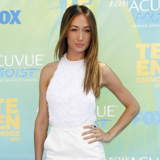 Maggie Q in 2011 Teen Choice Awards