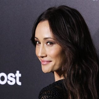 Maggie Q in US Premiere of The Divergent Series: Insurgent - Red Carpet Arrivals