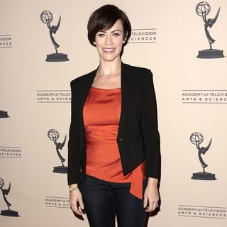 Maggie Siff in Television Academy Presents An Evening with Sons of Anarchy - Arrivals