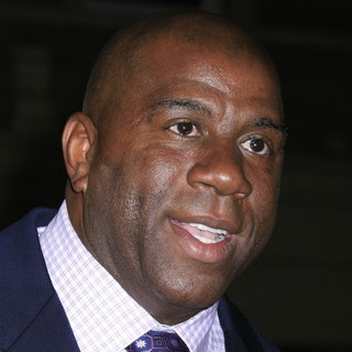 Magic Johnson in Los Angeles Premiere of The Book of Eli - Arrivals