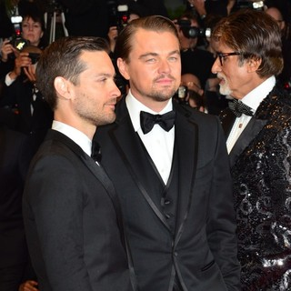 Tobey Maguire, Leonardo DiCaprio, Amitabh Bachchan in Opening Ceremony of The 66th Cannes Film Festival - The Great Gatsby - Premiere