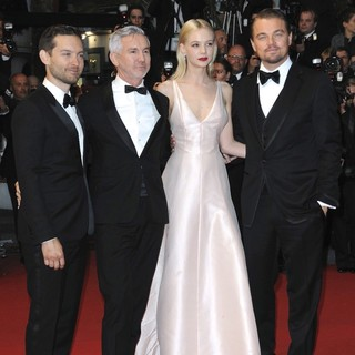 Tobey Maguire, Baz Luhrmann, Carey Mulligan, Leonardo DiCaprio in Opening Ceremony of The 66th Cannes Film Festival - The Great Gatsby - Premiere