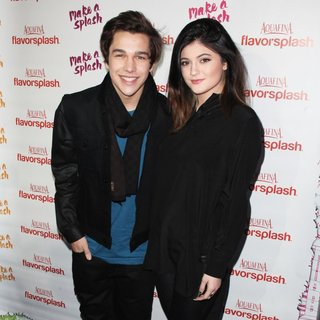 Austin Mahone, Kylie Jenner in PepsiCo's Super Bowl Celebration