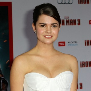 Maia Mitchell in Iron Man 3 Los Angeles Premiere - Arrivals