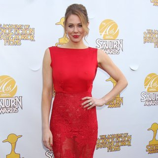 Maitland Ward in Saturn Awards 2014 - Arrivals