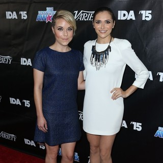 Tina Majorino, Alyson Stoner in The Industry Dance Awards 2015 - Arrivals