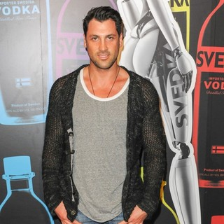 Maksim Chmerkovskiy in Svedka Vodka Hosts Night of A Billion Reality Stars - Arrivals