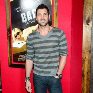 Maksim Chmerkovskiy in World Premiere of Bad Teacher - Arrivals