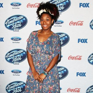 Malaya Watson in FOX's American Idol XIII Finalists Party