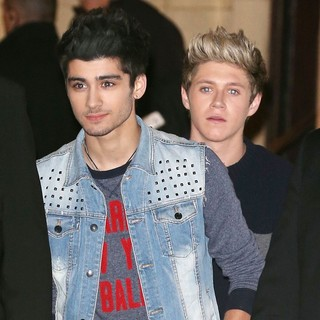 Zayn Malik, Niall Horan, One Direction in One Direction Leaving The Royal Albert Hall After Performing at The Royal Variety Performance