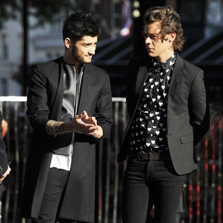 Zayn Malik, Harry Styles, One Direction in World Premiere of One Direction: This Is Us - Arrivals