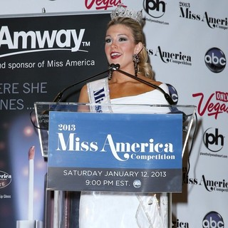 Mallory Hagan in 2013 Miss America Mallory Hagan Holds Her First Press Conference
