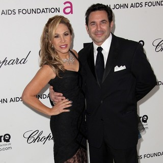 Adrienne Maloof, Paul Nassif in The 20th Annual Elton John AIDS Foundation's Oscar Viewing Party - Arrivals