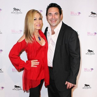 Adrienne Maloof, Paul Nassif in The Grand Opening of Blizz Frozen Yogurt
