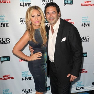 Adrienne Maloof, Paul Nassif in Bravo's Andy Cohen's Book Release Party for Most Talkative: Stories from The Front Lines of Pop