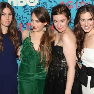 Zosia Mamet, Jemima Kirke, Lena Dunham, Allison Williams in The New York Premiere of HBO's Girls