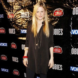 Mamie Gummer in The 56th Annual Village Voice Obie Awards Ceremony - Press Room