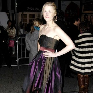 Mamie Gummer in The Opening Night of The Broadway Production of Enron - Arrivals