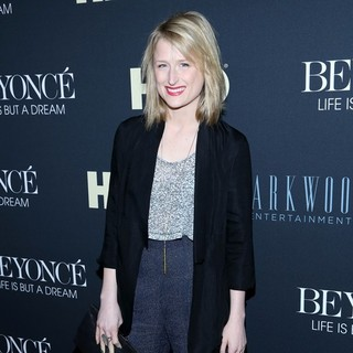Mamie Gummer in Beyonce: Life Is But a Dream New York Premiere