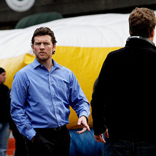 Sam Worthington in Shooting on Location for 'Man on a Ledge'